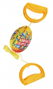 Free and Easy speedbal Water Fun geel 14 cm