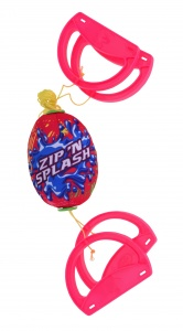 Free and Easy speedbal Water Fun roze 14 cm