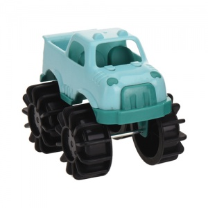 Free and Easy speelgoedauto monstertruck 12 cm groen