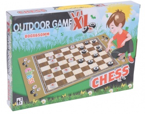 Free and Easy play mat chess 80 x 65 cm