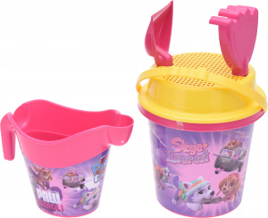 Free and Easy strandset roze 5-delig