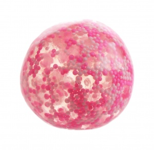 Free and Easy stressbal 5 cm roze