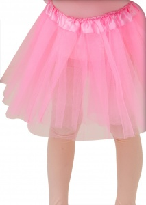 Free and Easy tutu one size roze meisjes