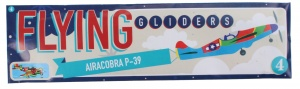 Free and Easy plane Flying Gliders 18 cm Airacobra P-39