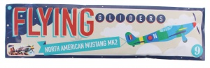 Free and Easy plane Flying Gliders 18 cm N-A Mustang MK2