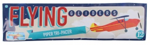 Free and Easy plane Flying Gliders 18 cm Piper Tri-Pacer