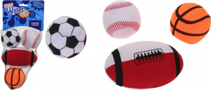 Free and Easy waterball set sport theme 4 pieces