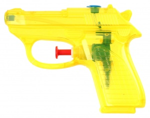 Free and Easy waterpistool 11 cm geel