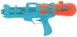 Free and Easy waterpistool 37 cm blauw