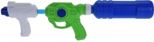 Free and Easy waterpistool 53 cm wit/groen/blauw