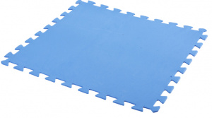 Free and Easy swimmingpool tiles 50 x 50 cm foam blue 9 pieces