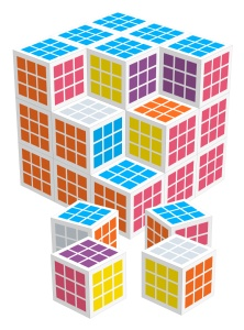 Fritzo Cube by Cube 30 mm 27 blokjes