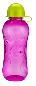 FruitFriends bidon 500 ml roze/groen