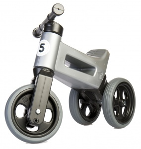 Funny Wheels Rider Sport Cool loopfiets Junior Grijs