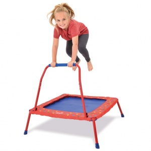 Galt trampoline foldable 86 x 86 x 82 cm red-S