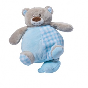 Gamberritos music cuddly toy 24 cm teddy bear blue