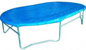 Game On Sport Afdekhoes Trampoline ovaal 423 x 244 blauw