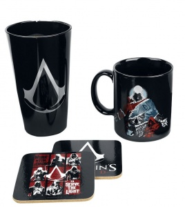 GB Eye cadeauset Assassins Creed zwart/wit 22 cm
