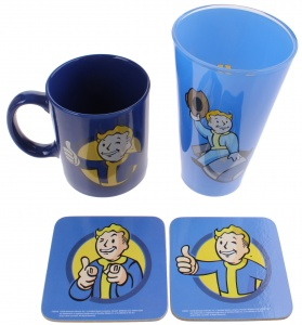 GB Eye cadeauset Fallout Vault Boy 300/500 ml groen/blauw