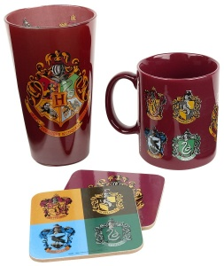 GB Eye cadeauset Harry Potter Zweinstein rood 22 cm