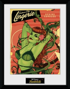 GB Eye poster in lijst DC Comics Poison Ivy 30 x 40 cm