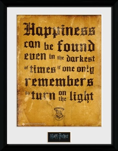 GB Eye poster in lijst Harry Potter Happiness 30 x 40 cm-S