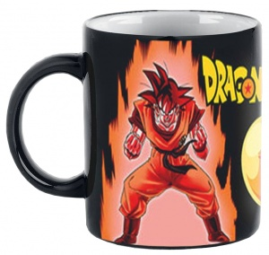 GB Eye warmtemok Dragonball Z Super Saiyan zwart/oranje 300 ml
