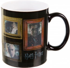 GB Eye warmtemok Harry Potter Portraits zwart/bruin 300 ml