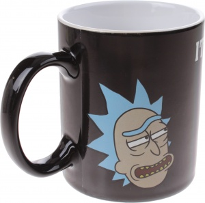 GB Eye warmtemok Rick and Morty Get Schwifty 300 ml