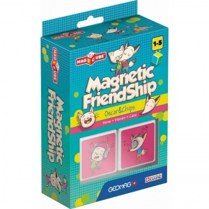 Geomag MagiCube Friendship Home Oscar & Chips 2-delig