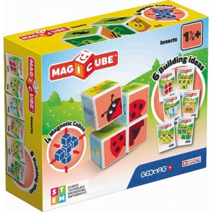 Geomag MagiCube Insects 7-delig multicolor
