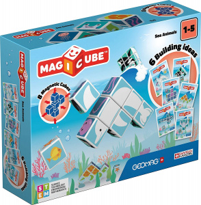 Geomag MagiCube Jungle Animals junior 14-delig