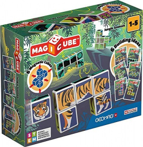 Geomag MagiCube Jungle Animals junior 12-delig