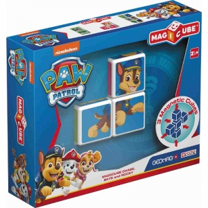 Geomag MagiCube Paw Patrol Chase, Skye en Rocky 3-delig