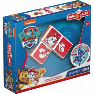 Geomag MagiCube Paw Patrol Marshall Fire Truck 5-delig rood