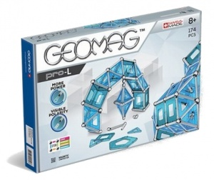 Geomag Pro-L blauw/zilver 174-delig
