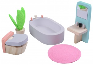 Gerardo's Toys bathroom wood 5-piece