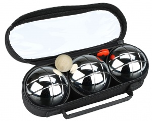 Get & Go Bowls Set 3 Balls IV Chrome