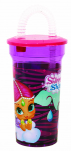 Giovas drinkbeker Disney Shimmer and Shine 400 ml paars