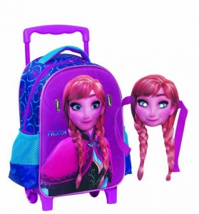 Giovas trolley/back bag with mask Frozen: Anna 7.2 litres