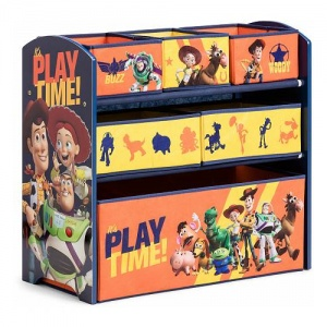 Global Industry opbergkast 6 lades Toy Story 64 cm blauw/oranje