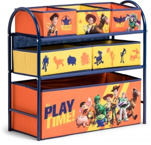 Global Industry opbergkast 6 lades Toy Story 60 cm blauw/oranje