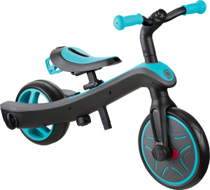Globber Trike Explorter 2-in-1 Junior Blauw/Zwart