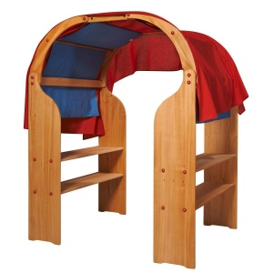Glückskäfer playhouse bois brun junior 150 x 140 x 90 cm