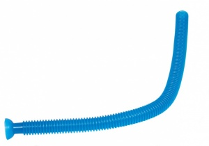 Goki Whistling Tube: Blue 75 cm