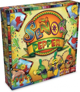 Goliath board game Señor Pepper French