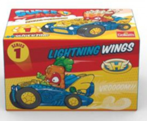 Goliath superzings Supercar jongens wings-blauw 2-delig