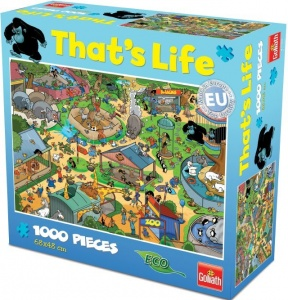 Goliath That's Life Zoo legpuzzel 1000 stukjes
