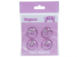 Kamparo Bagpuss magnets glass 2.5 cm