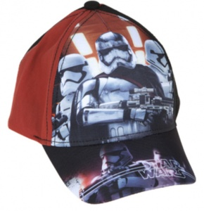 Kamparo cap Star Wars junior orange-black size 54